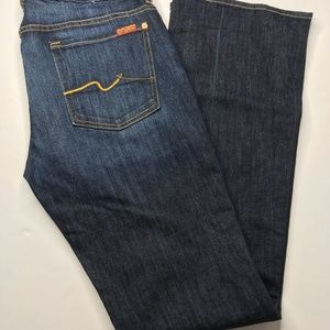 7 for All Mankind Kinmie Bootcut Dark Wash Sz 32